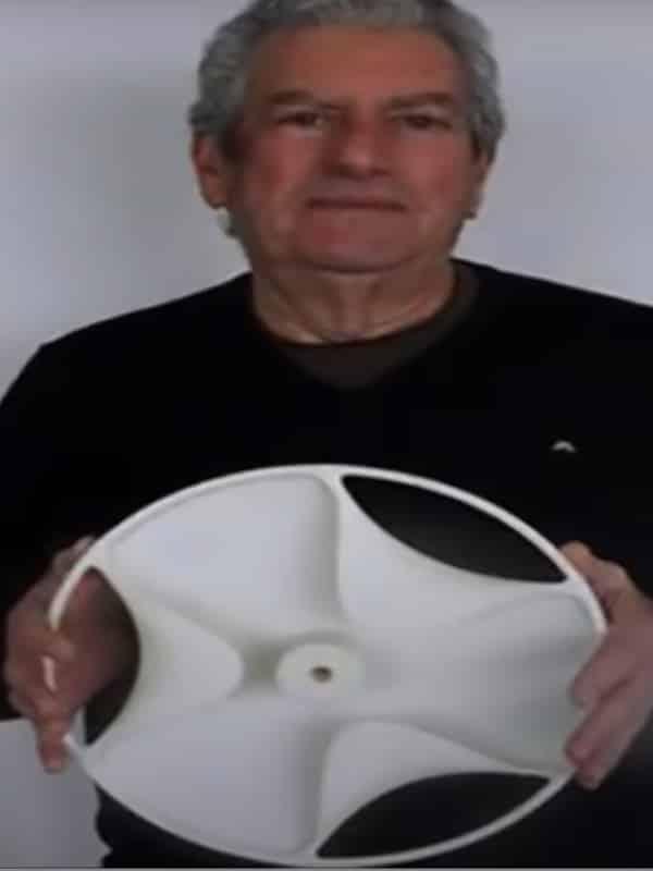 reconstitution du disque de Sabu à l'aide d'une imprimante 3D