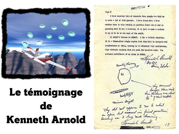 L'observation d'ovnis sur le Mont Rainier illustration.