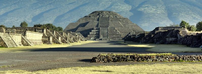 Teotihuacan lieu de pratiques ésotériques.