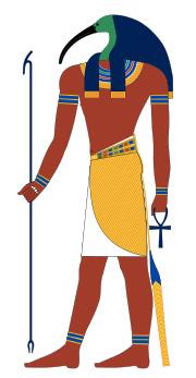 Représentation Thot le dieu égyptien
