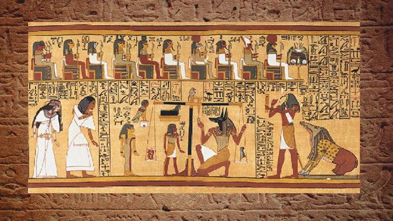 l'expérience de mort imminente chez les égyptiens