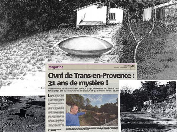 l'ovni de Trans en Provence